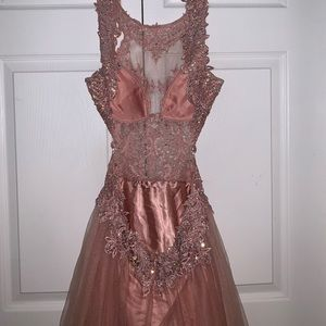 Camille la Vie Prom Pink/Evening/Occasion Dress